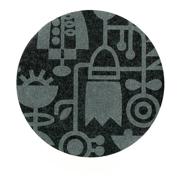 Living Laboratory Charcoal Mouse Pad