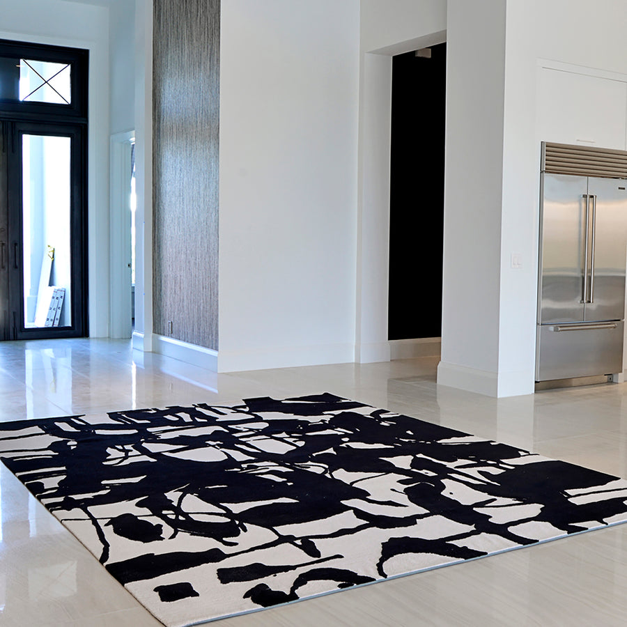 'Caligraphy' Area Rug