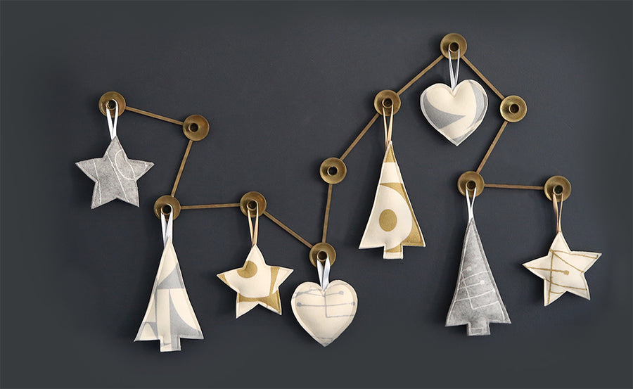Chalkline Ornament Set