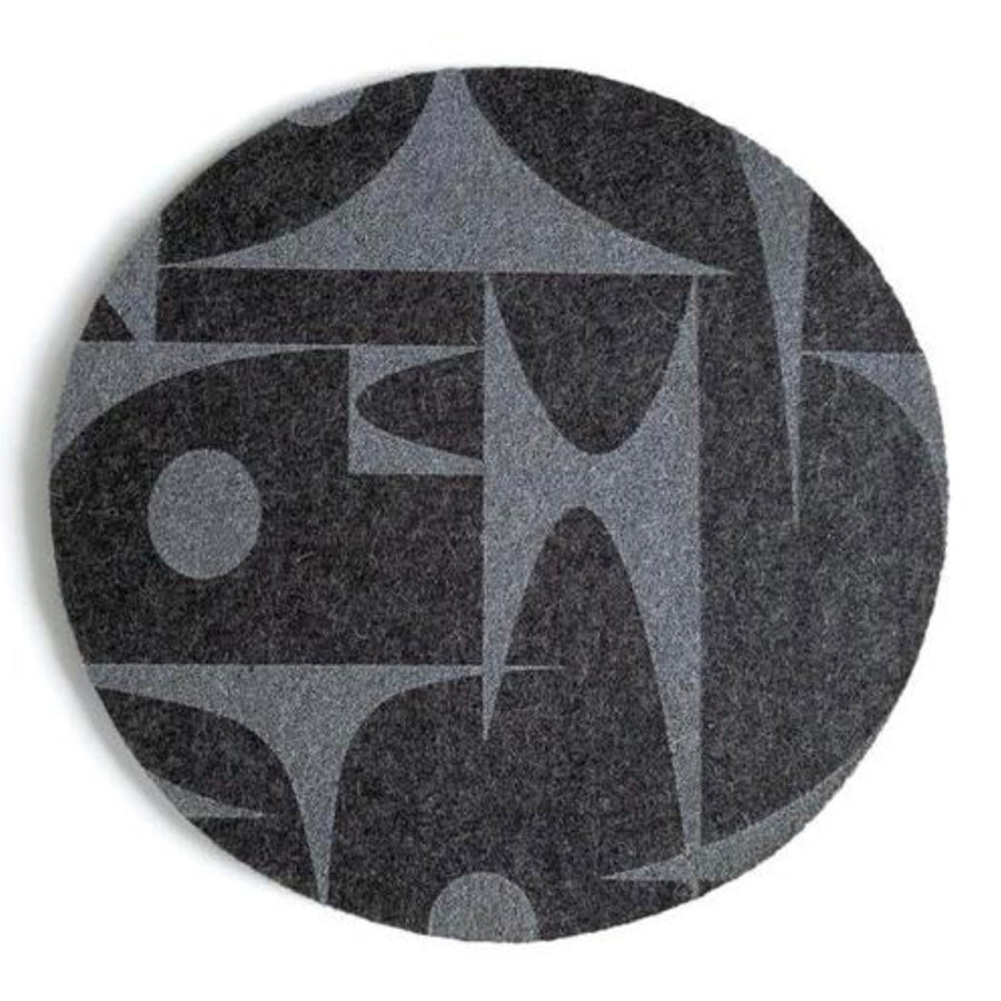 GeoJazz, eco friendly Father's Day gift, Charcoal Mousepad