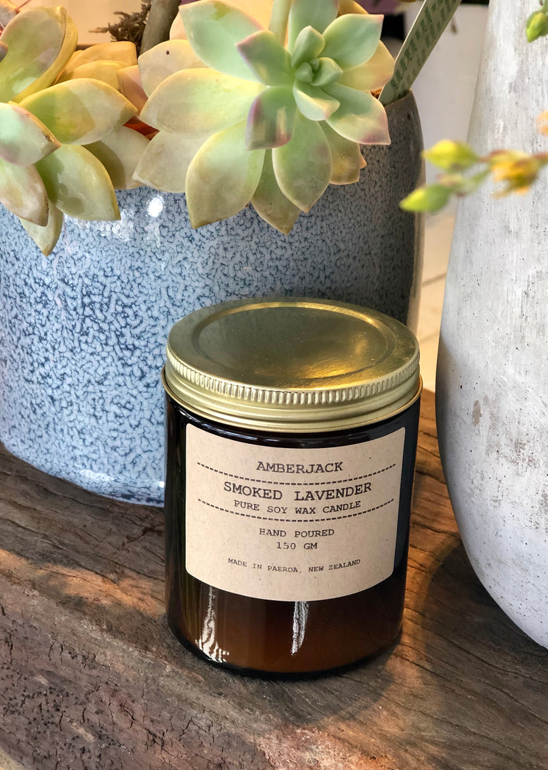 Scented Candle by Amberjack of Paeroa