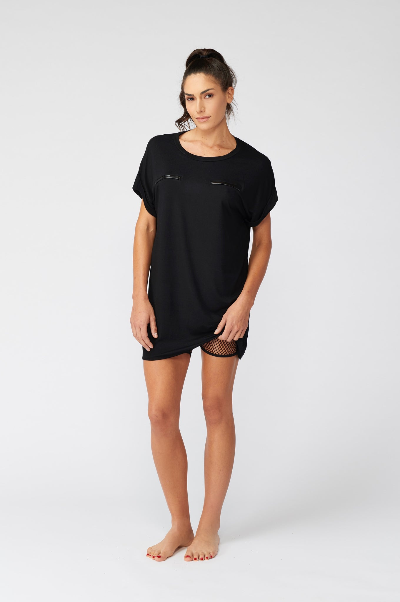Women's T-Shirt Dress By C2