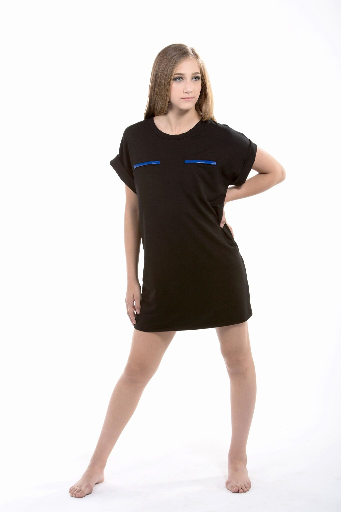 C2 dance wear t-shirt dress