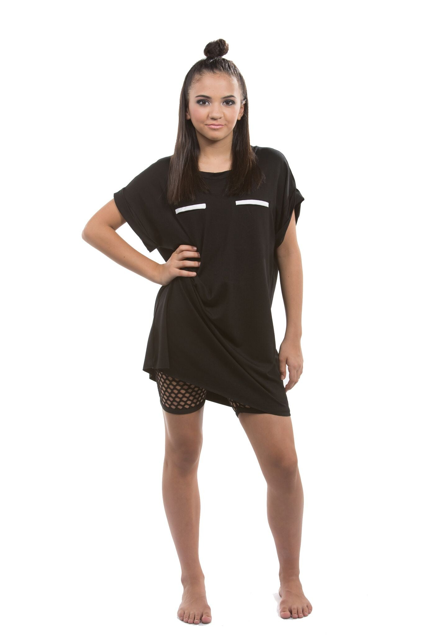 Womens T Shirt Dress Activewear C2 Activewear