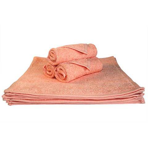 1x Spa Face Towel Peach