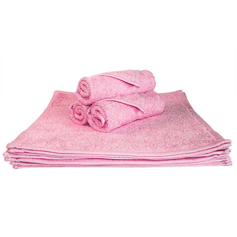 1x Spa Face Towel Pink