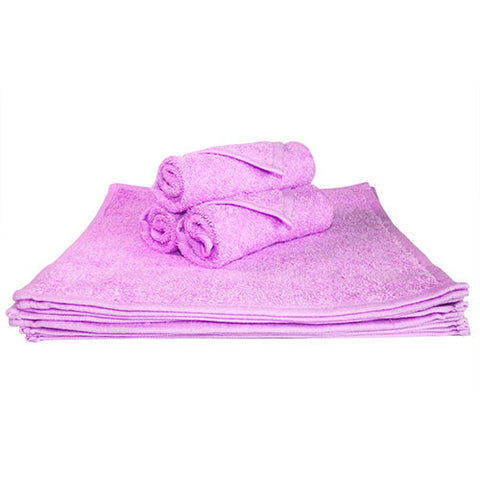 1x Spa Face Towel Lilac