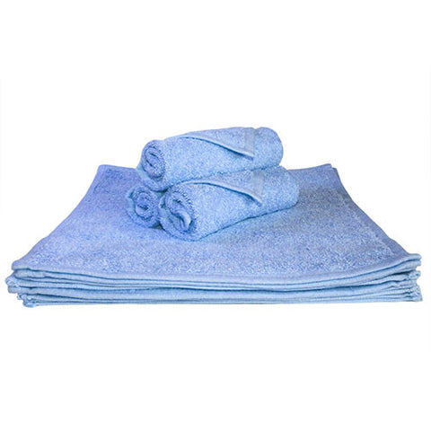 1x Face Towel Sky Blue