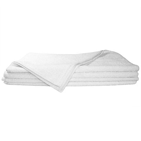 1x Hand Towel White