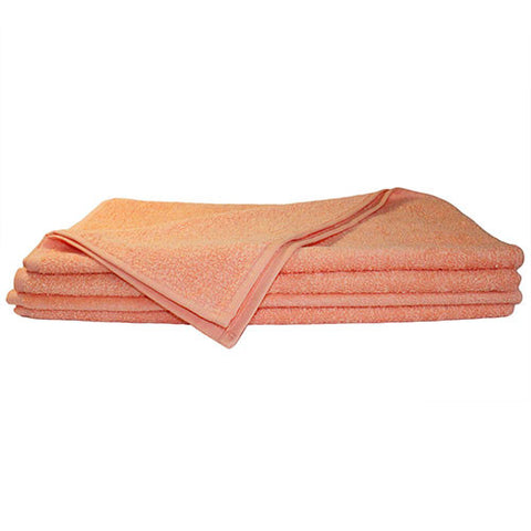1x Hand Towel Peach