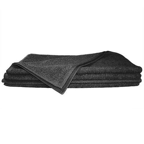 1x Hand Towel Black