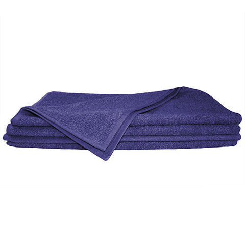 1x Hand Towel Navy Blue
