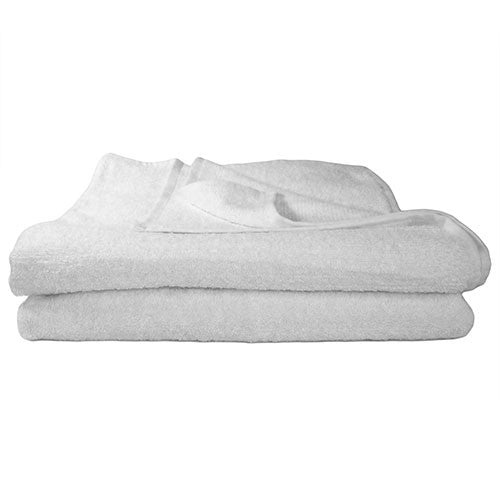 1x Bath Towel White