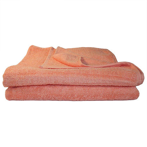 1x Bath Towel Peach