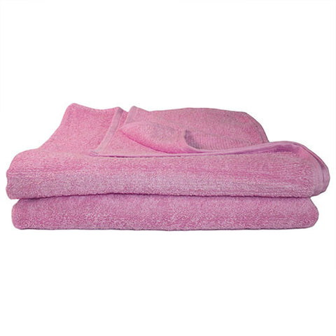 1x Bath Towel Pink