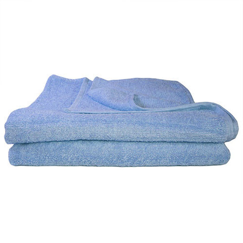 1x Bath Towel Sky Blue