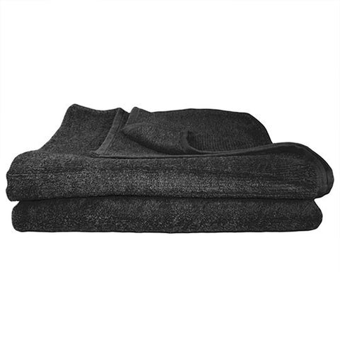 1x Bath Towel Black