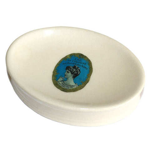 Eau De Cologne - Ceramic Soap Dish