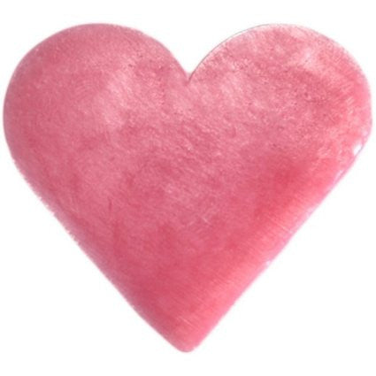 6x Heart Guest Soaps - Wild Rose