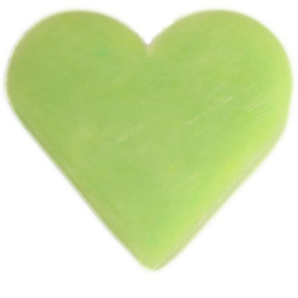 6x Heart Guest Soaps - Green Tea