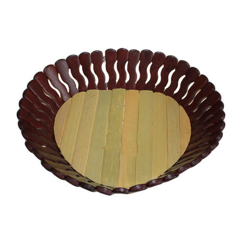 Bamboo Baskets - Large Heart