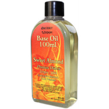 Sweet Almond 100ml Base Oil