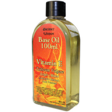 Natural Vitamin E 100ml Base Oil