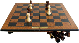 1 x Luxury Chess Set with Box - 29 cm