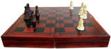 1x Chess - Traditional Mandarin with Case - 40 cm