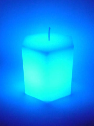 Dreaming Candle - Hexagonal