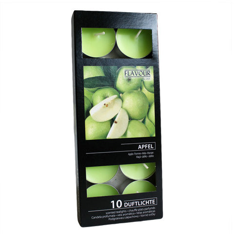 Scented Nightlights - Apple - 10 Per Pack