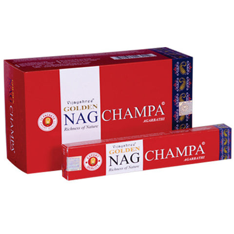Golden Nag - CHAMPA 15g pack