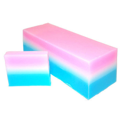 Baby Powder Soap Slice, approx 100gr