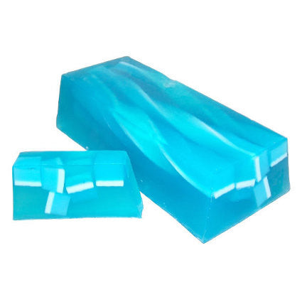 Blue Champagne Soap Slice, approx 100gr