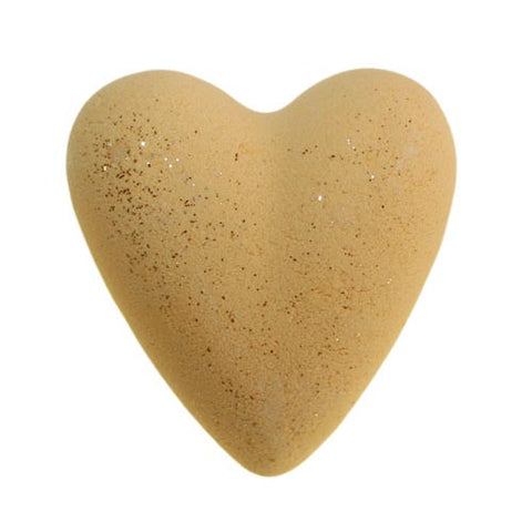 Christmas Day Bath Heart - Yellow