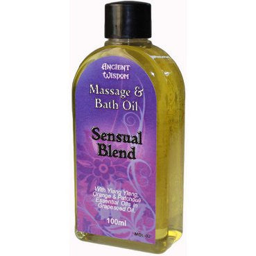 Sensual 100ml Massage Oil