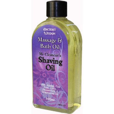Mr Cleancut Shaving Oil 100ml Massage Oil