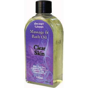 Clear Skin 100ml Massage Oil