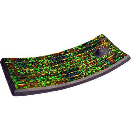 Mosaic Incense Plate - Moss&Water