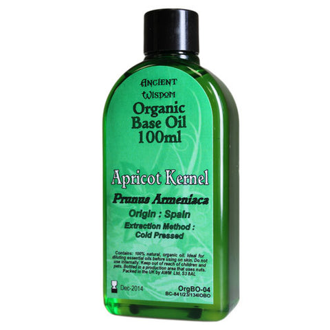 Apricot Kernel 100ml Organic Base Oil
