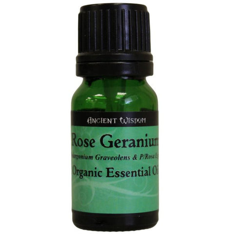 Rose Geranium Organic Essential Oil