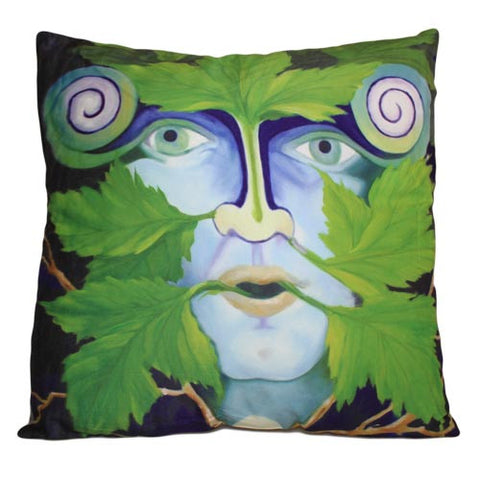 Art Cushion Cover - Green Man