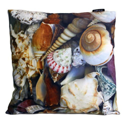 Art Cushion Cover - Tropical Shells