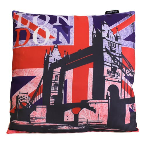 Art Cushion Cover - LONDON - Bridge