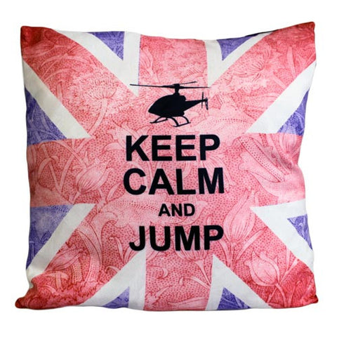 Art Cushion Cover - Keep Calm & Jump