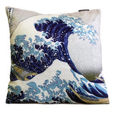Art Cushion Cover - The Great Wave - Hokusai