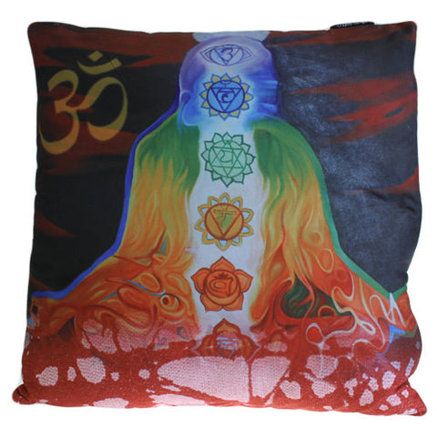 Art Cushion Cover - Chakra Buddha Meditation