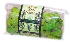 Pine Tree Stones Fragrant Pumice Stones 100g bags (approx)