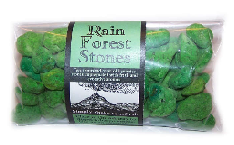 Rain Forest Fragrant Pumice Stones 100g bags (approx)