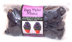 Deep Violet Musk Fragrant Pumice Stones 100g bags (approx)